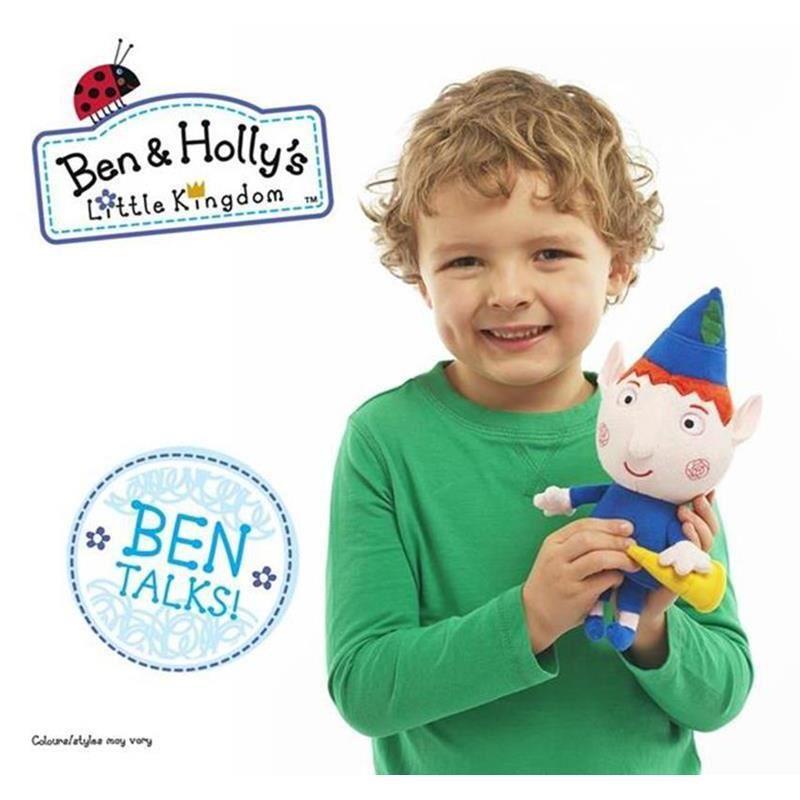 Picture of Ben & Holly 7 inch Talking Plush - Ben Elf