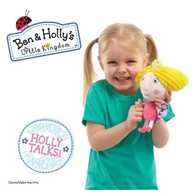 Picture of Ben & Holly 7 inch Talking Soft Toy - Princess Holly