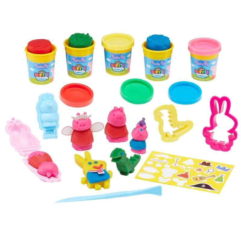 Picture of Peppa Pig Softee Dough Mould n' Play 3D Figure Maker