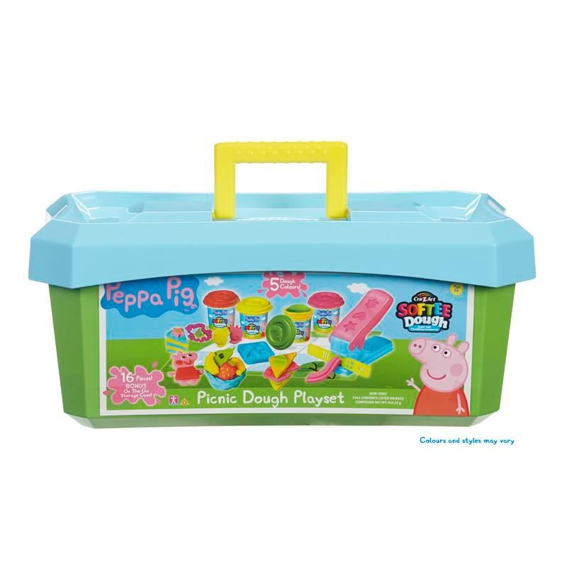 Picture of Peppa Pig Softee Dough Picnic Playset
