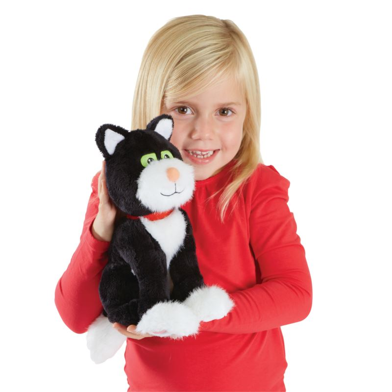 Picture of Postman Pat Stroke 'n' Purr Jess Soft Toy
