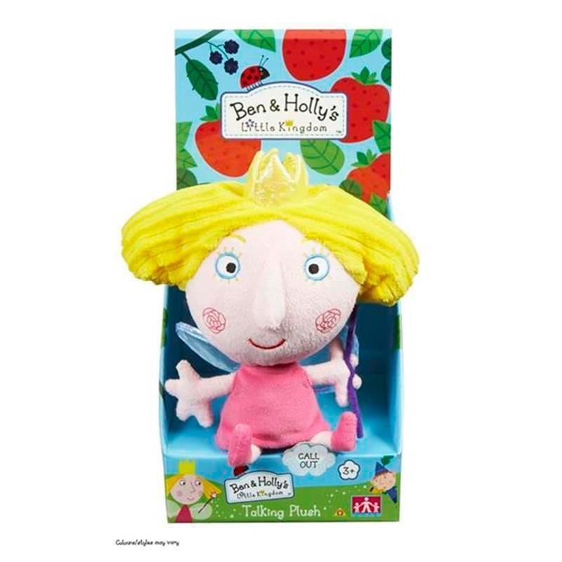 Ben & Holly 7 inch Talking Soft Toy - Princess Holly