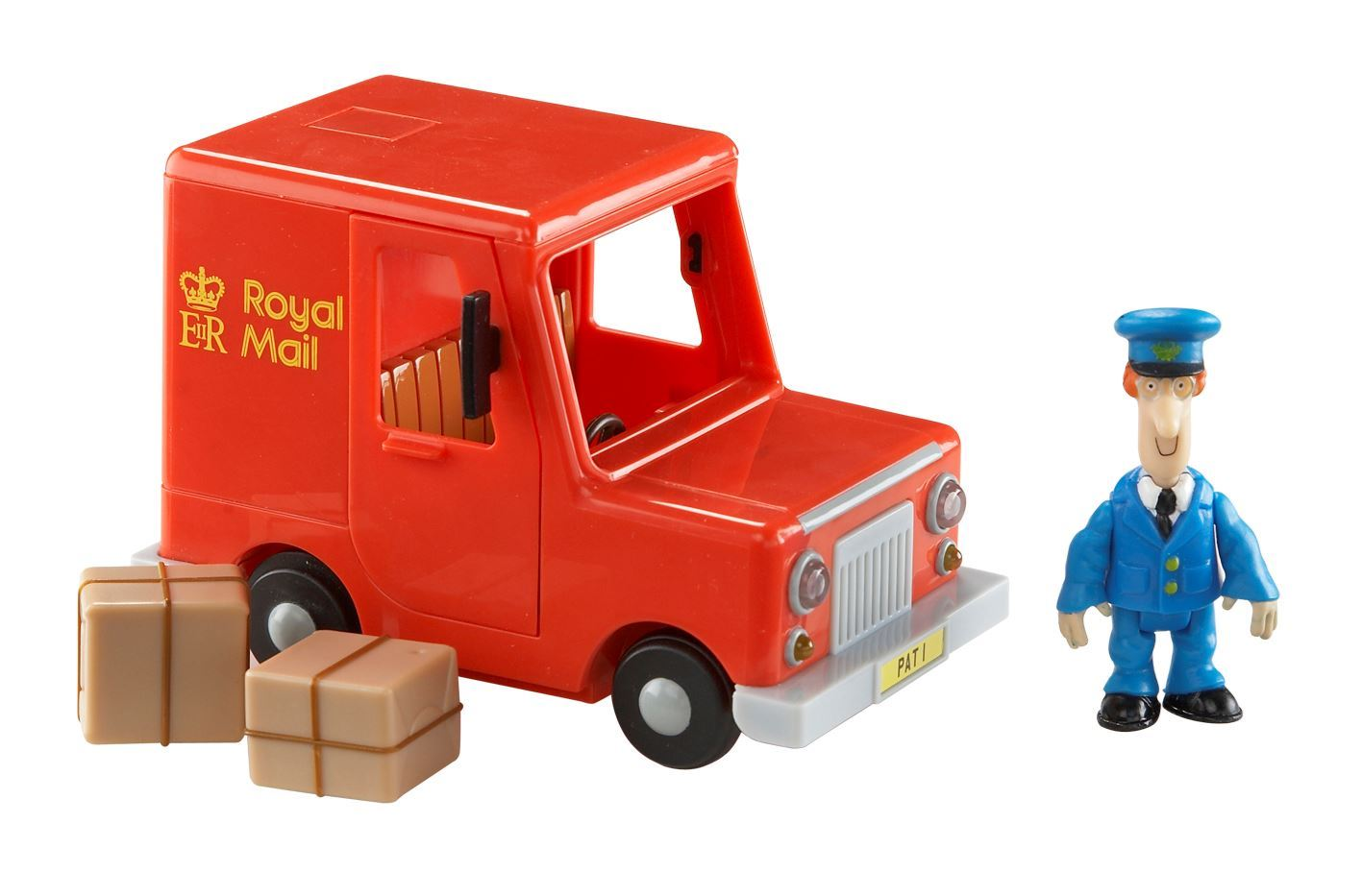 Postman Pat Classic Vehicle And Accessory Set - Pats Royal Mail Van