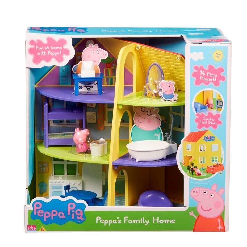 06384 Peppa Family Home FBS