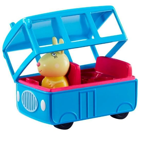 06495 PEPPA PIGS VEHICLES (5 ASST) Bus CPS
