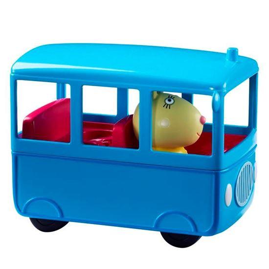 06495 PEPPA PIGS VEHICLES (5 ASST) Bus CPS2