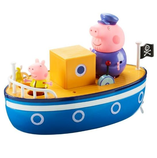 05060 PEPPA PIG GRANDPA PIGS BATHTIME BOAT CPS