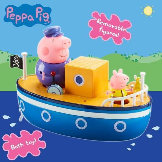 05060 PEPPA PIG GRANDPA PIGS BATHTIME BOAT FPS