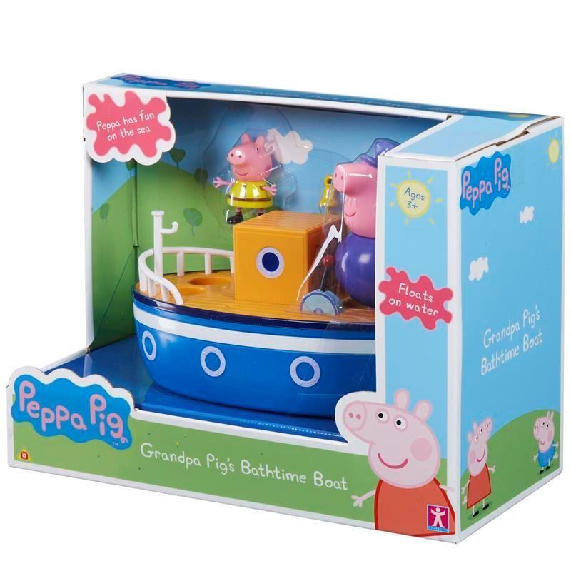 05060 PEPPA PIG GRANDPA PIGS BATHTIME BOAT ABS