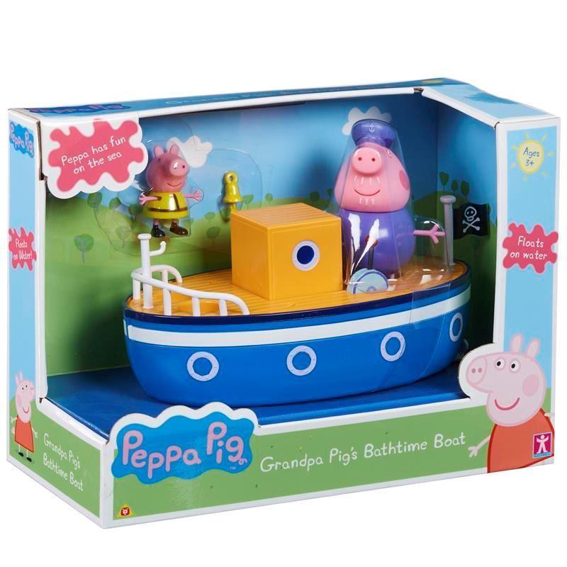 05060 PEPPA PIG GRANDPA PIGS BATHTIME BOAT ABS2