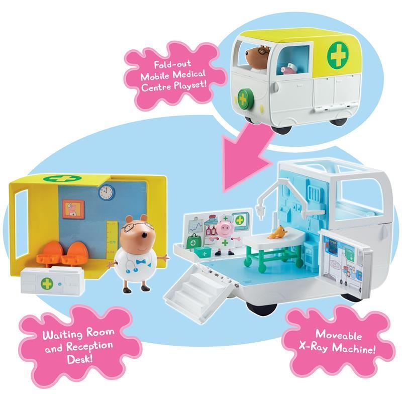 06722 Peppa Pig Mobile Medical Centre FPS2