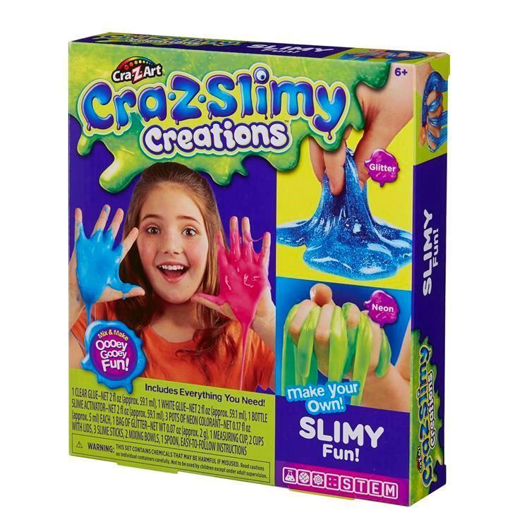 18821 CRA-Z-SLIMY CREATIONS SLIMY FUN KIT ABS2