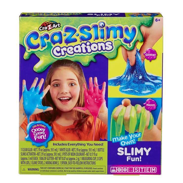 18821 CRA-Z-SLIMY CREATIONS SLIMY FUN KIT FBS