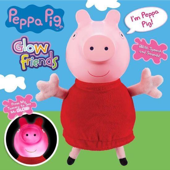 06934 PEPPA PIG GLOW FRIENDS TALKING GLOW PEPPA FPS