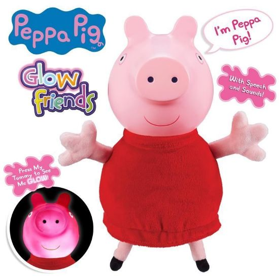 06934 PEPPA PIG GLOW FRIENDS TALKING GLOW PEPPA FPS2