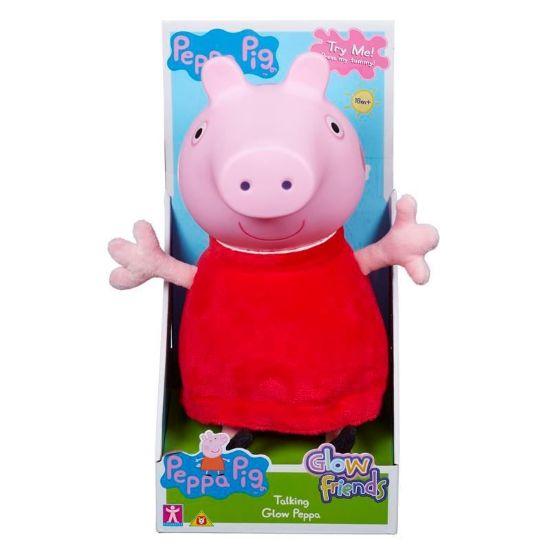 06934 PEPPA PIG GLOW FRIENDS TALKING GLOW PEPPA FBS