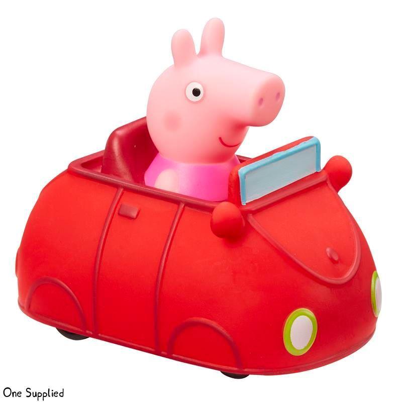 96617 Peppa Pig Mini Buggies (4 Asst) Peppa and Red Car CPS