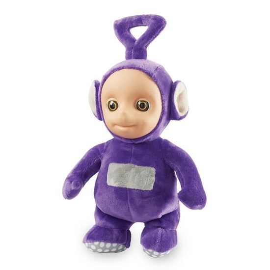 06109B Teletubbies 8 Inch Talking Tinky Winky Soft Toy CPS2