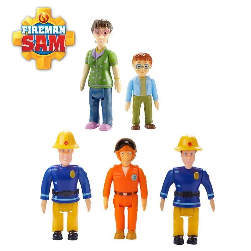 Picture of Fireman Sam Action Figure toys Five Pack
