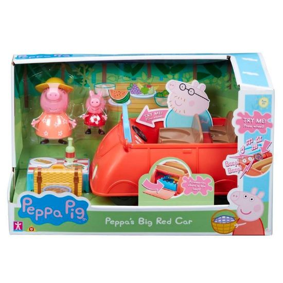 06921 PEPPAS BIG RED CAR FBS (Copy)