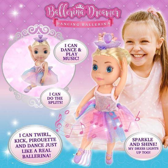 HUN7229 Ballerina Dreamer Dancing Ballerina FPS (Copy)