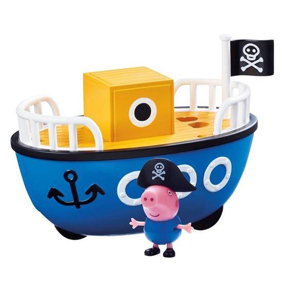 06495 Peppa Pig Vehicle Assortment Grandpa Pigs Boat CPS2 (Copy)