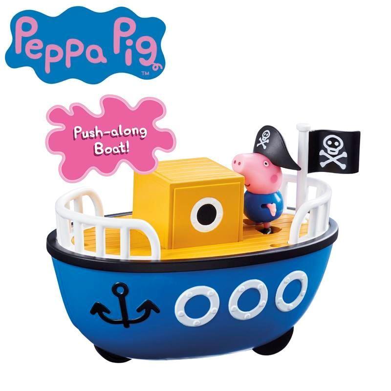 06495 Peppa Pig Vehicle Assortment Grandpa Pigs Boat FPS (Copy)