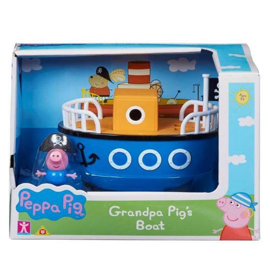 06495 Peppa Pig Vehicle Assortment Grandpa Pigs Boat FBS (Copy)