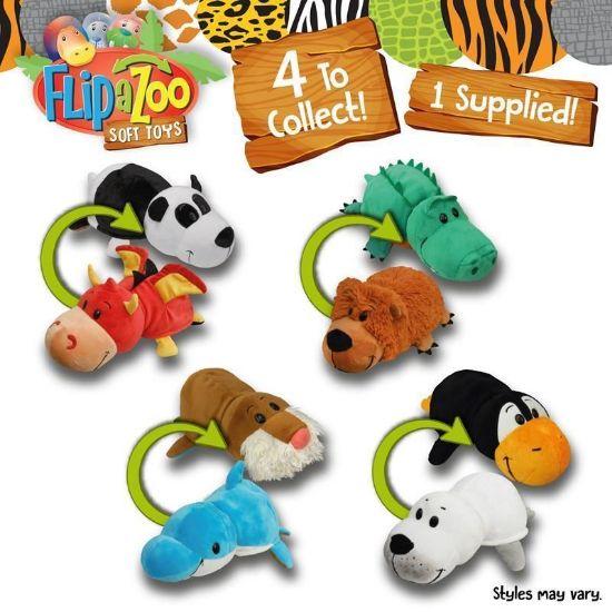20888 Flipazoo 8 Inch Soft Toy (4 Asst) FPS (Copy)