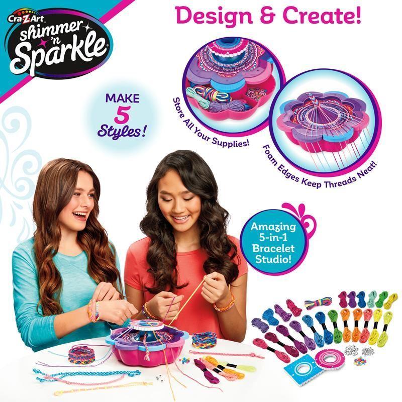 17887 Shimmer and Sparkle 5in1 Friendship Bracelet Studio FPS2 (Copy)