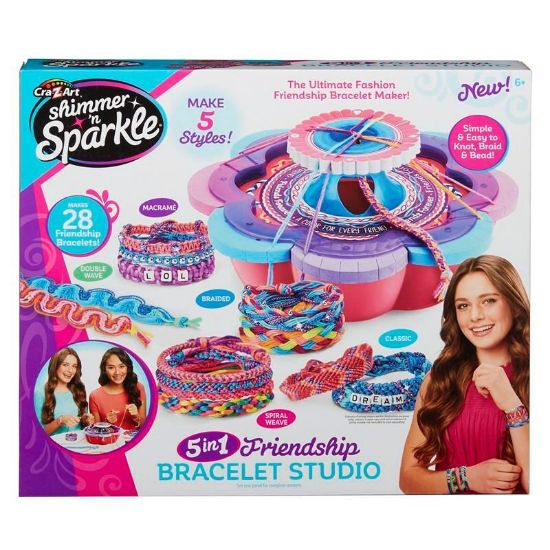 17887 Shimmer and Sparkle 5in1 Friendship Bracelet Studio FBS (Copy)