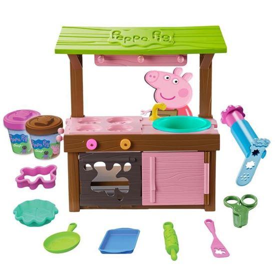 07038 Peppa Pig Peppa's Mud Kitchen Dough Set CPS2 (Copy)