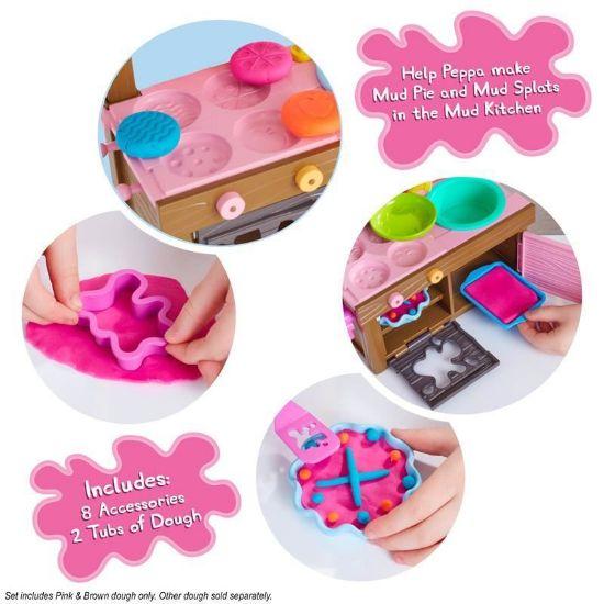 07038 Peppa Pig Peppa's Mud Kitchen Dough Set IS (Copy)