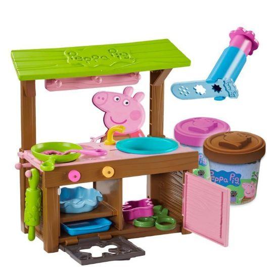 07038 Peppa Pig Peppa's Mud Kitchen Dough Set CPS (Copy)