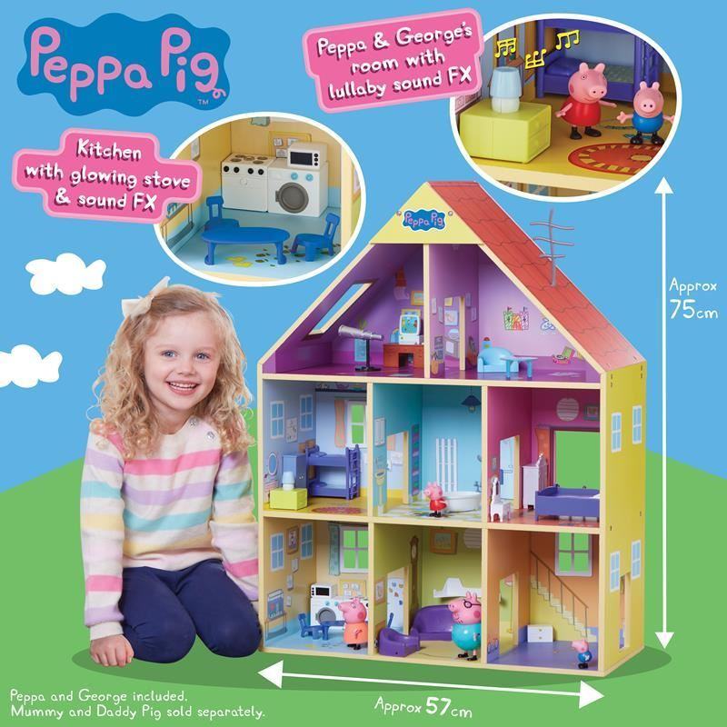 07004 Peppas Wooden Playhouse FPS (Copy)
