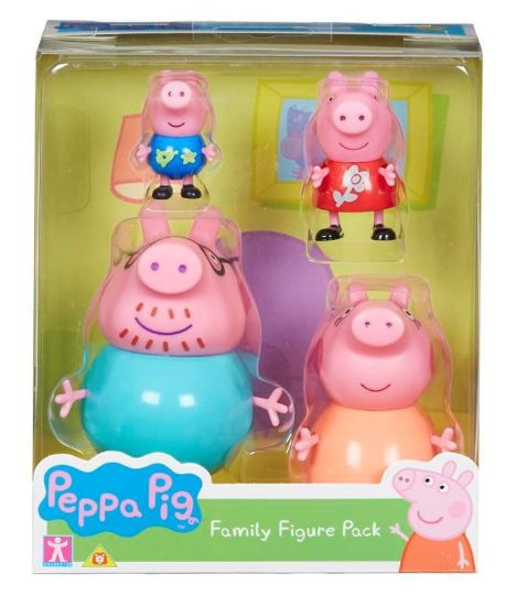 06666 PEPPA PIG FAMILY FIGURE PACK FBS (Copy)