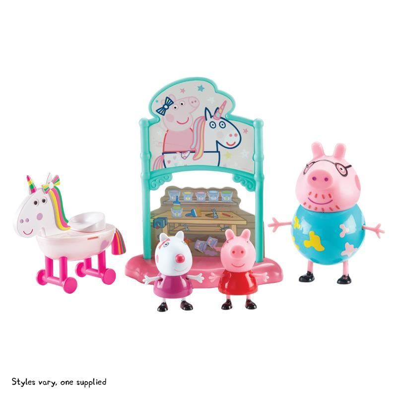 07170 PEPPA PIG THEME PLAYSETS Peppas Magical Unicorn Set CPS (Copy)