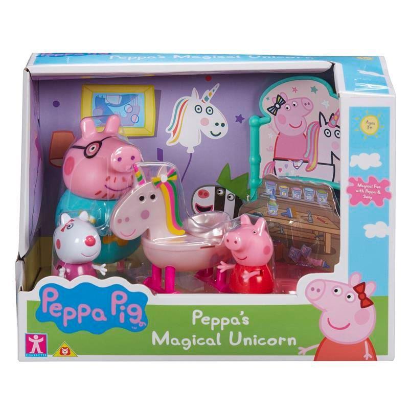 07170 PEPPA PIG THEME PLAYSETS MAGICAL UNICORN SET FBS (Copy)