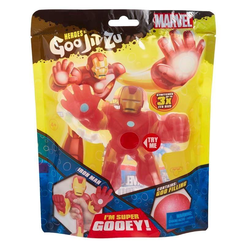 41038 HEROES OF GOO JIT ZU MARVEL SUPERHEROES IRON MAN FBS (Copy)
