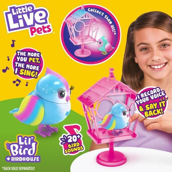 26101 LITTLE LIVE PETS LIL BIRD AND HOUSE S10 HOUSE RAINBOW TWEETS FPS (Copy)