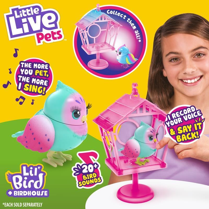 26101 LITTLE LIVE PETS LIL BIRD AND HOUSE S10 PIPPA PEEPS FPS (Copy)
