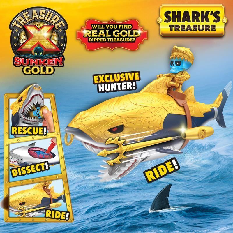 41578 TREASURE X SUNKEN GOLD SHARKS TREASURE FPS (Copy)