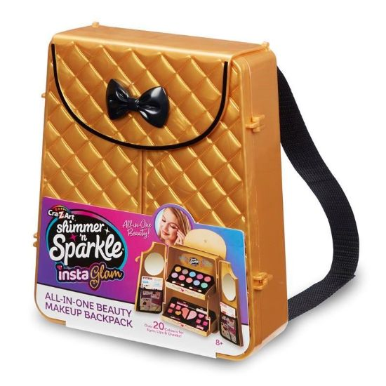 07314 SHIMMER 'N' SPARKLE INSTA GLAM - ALL IN ONE BEAUTY MAKEUP BACKPACK ABS (Copy)