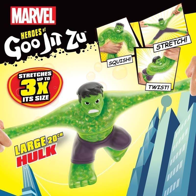 41106 HEROES OF GOO JIT ZU MARVEL SUPERGOO HULK FPS (Copy)