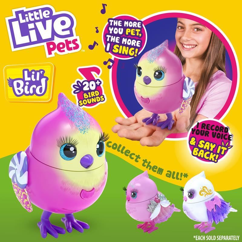 26027 LITTLE LIVE PETS LIL BIRD S10 CANDI SWEET FPS (Copy)