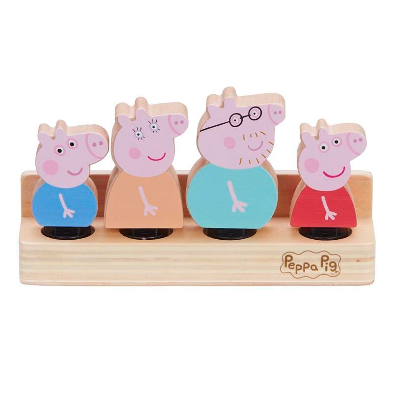 07207 Peppa Pig Wooden Family Figures CPS6 (Copy)