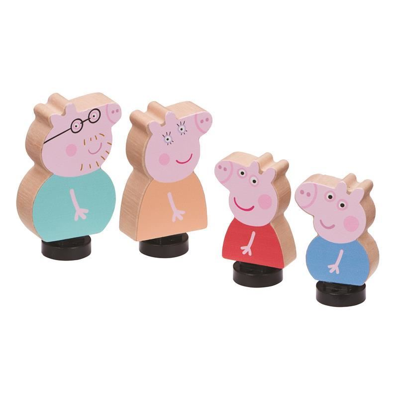 07207 Peppa Pig Wooden Family Figures CPS (Copy)