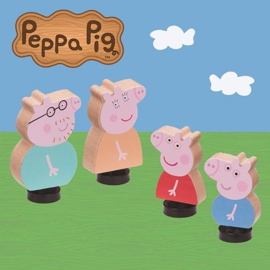 07207 Peppa Pig Wooden Family Figures FPS (Copy)