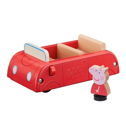 07208 Peppa Pig Wooden Red Car CPS2 (Copy)