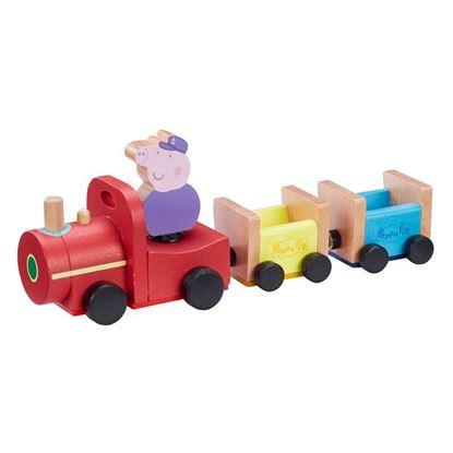 07210 Peppa Pig Wooden Grandpa Pigs Train CPS (Copy)